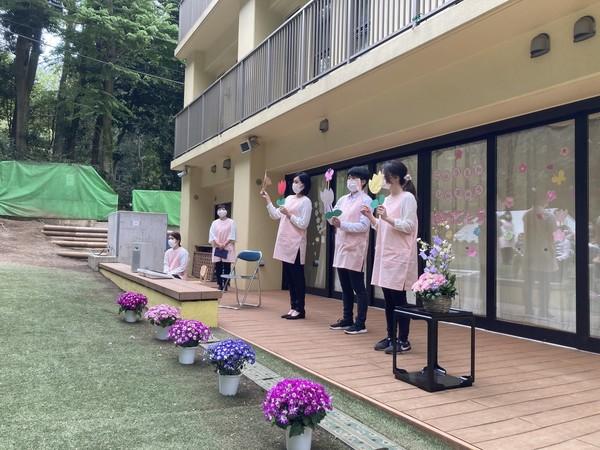 世田谷おとぎの森 入園式